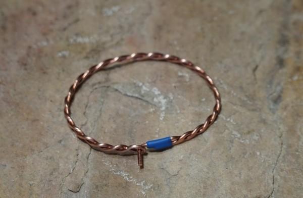 99,99% Kupfer-Armband für Frau