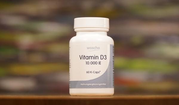WOSCHA Vitamin D3 - 10.000 IE