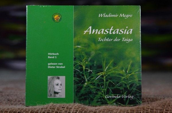 (CD; Hörbuch) Anastasia, Band 1 • Tochter der Taiga