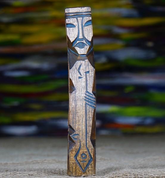 Kaichi - Weißheit aus Zedernholz, 21 cm