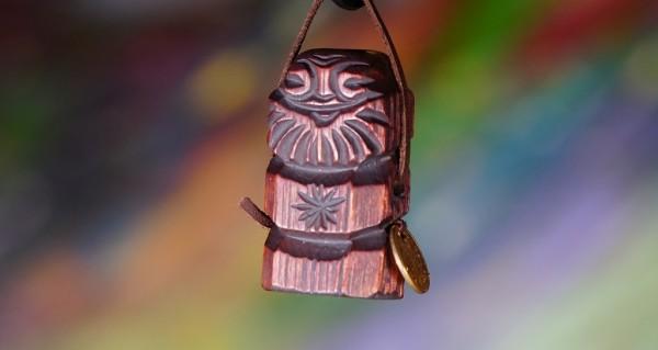 Dyaryk für Mann,Talisman des Wohlstandes, sib. Zeder, 5-6 cm