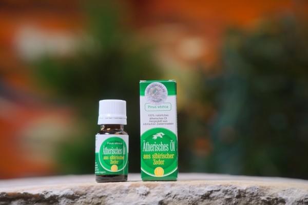 Ätherisches Zedernöl aus Zedernadeln, 10 ml, grün