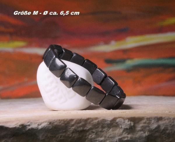 Schungit Armband Quadratisch