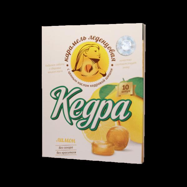 """Lutsch-Pastillen """"Kedra"""" mit Zitrone"""