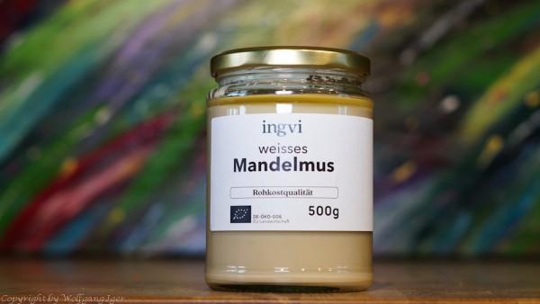 ingvi - Mandelmus weiss, Rohkostqualität 500g