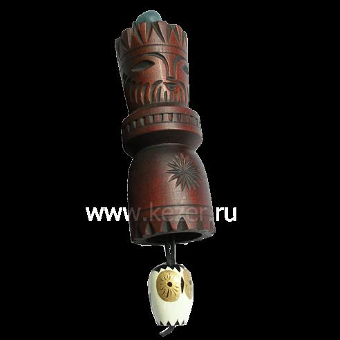 Mudra männlich aus Zedernholz (Talisman der Weisheit) (9 cm)