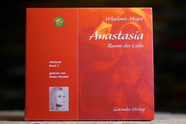 (CD; Hörbuch) Anastasia, Band 3 • Raum der Liebe
