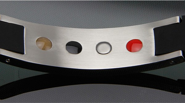 Energie Armband aus Titanium, Germanium, Magnet und Ion