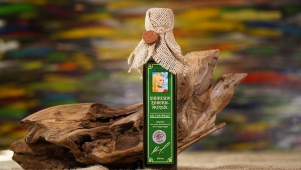 Zedernussöl nach Anastasia aus Sibirien 250ml, echter Wildwuchs