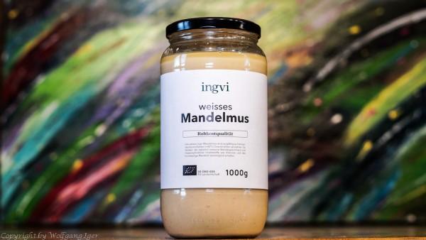 ingvi - Mandelmus weiss, Rohkostqualität 1000g