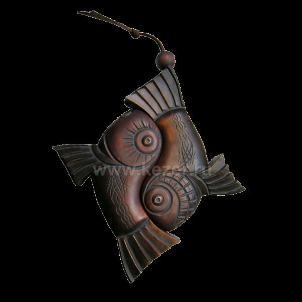 Talisman der Harmonie aus Zedernholz ca. 6 cm