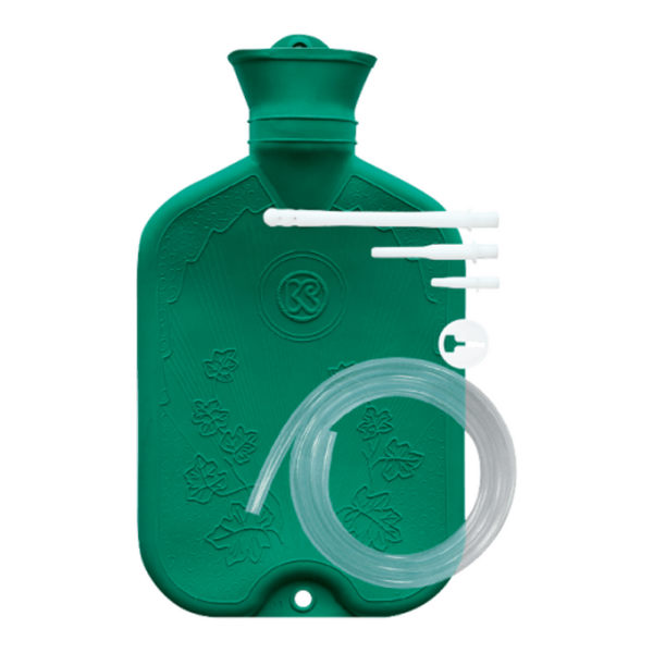 Flasche Esmarhara/ Einlauf/ Wärmflasche