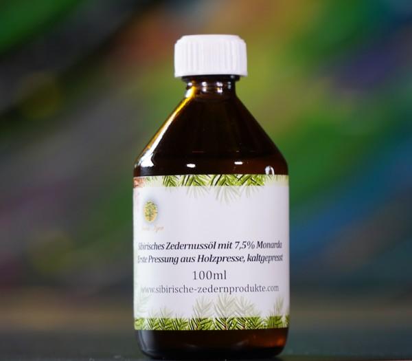 sibirisches Zedernussöl mit 7,5% Monarda