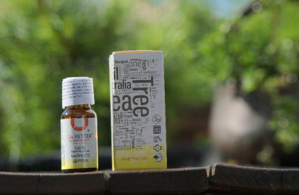 Teebaumöl Bio Ätherisches Öl aus Russ.10 ml