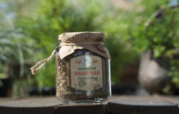 """Kräuter """"Iwan-Chai mit Sanddorn """" fermentiert, 110 g"""