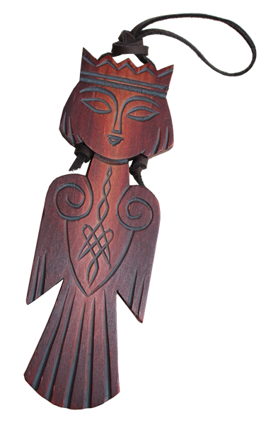 Talisman Sirin-Begleiter ca. 9cm