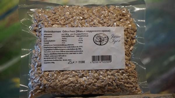 Sibirische Zedernflocken, bio, Rohkost 200g