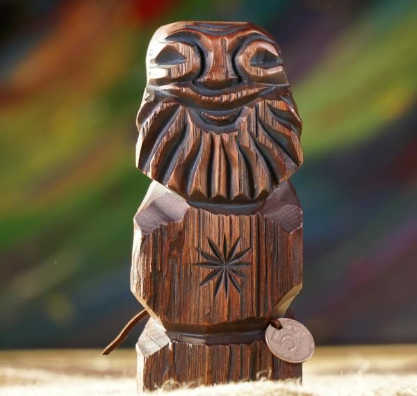 Dyaryk männlich aus Zedernholz (Talisman des Wohlstands) (18-20 cm)