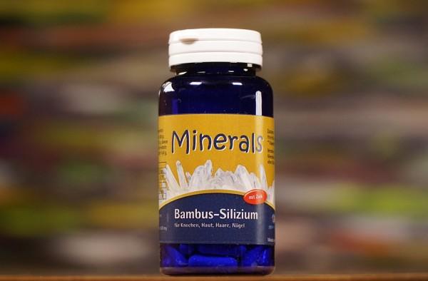 Bambus-Silizium mit Zink, 60 Kaps
