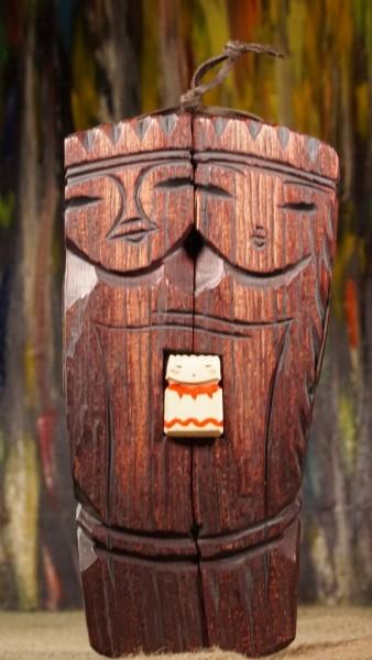 Große Familie, Familienamulett aus Zedernholz ca. 21 cm