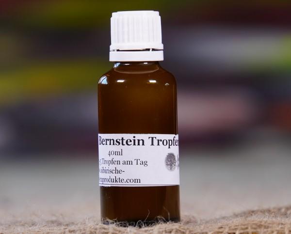 Bernstein Tropfen