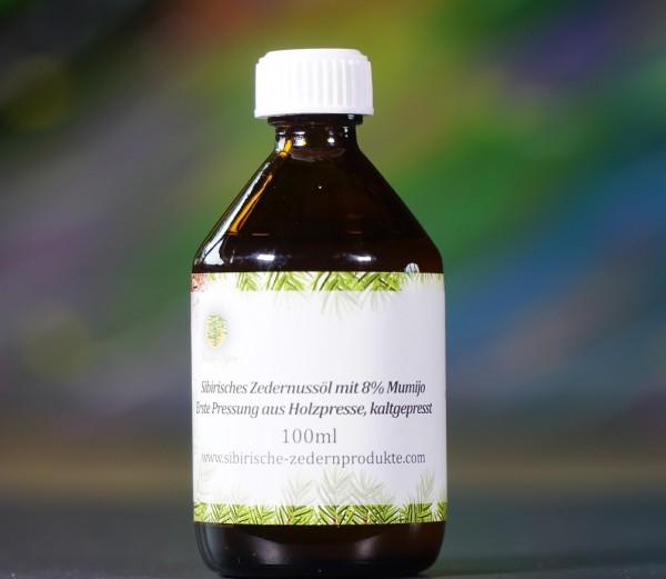 sibirisches Zedernussöl mit 8% Mumijo